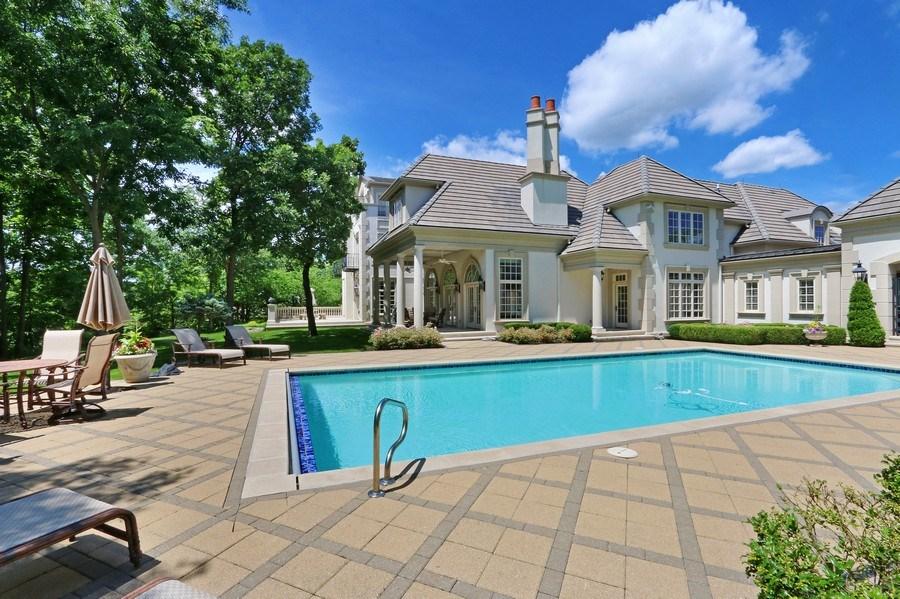 Real Estate Photography - 11521 Pawnee Circle, Leawood, KS, 66211 - Rear View
