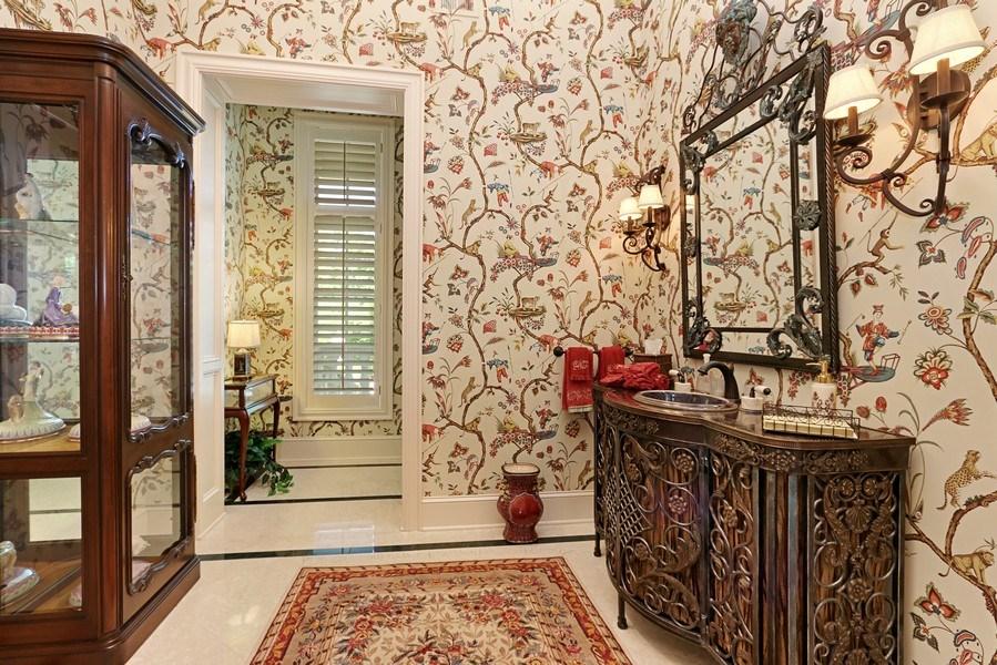 Real Estate Photography - 11521 Pawnee Circle, Leawood, KS, 66211 - Half Bath