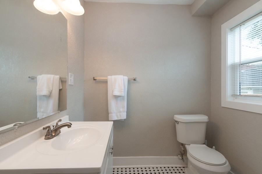 Real Estate Photography - 3347 Gillham Road, Kansas City, MO, 64109 - Half Bath