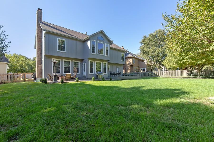 Real Estate Photography - 10404 W. 131st ter, Overland Park, KS, 66210 - Back Yard