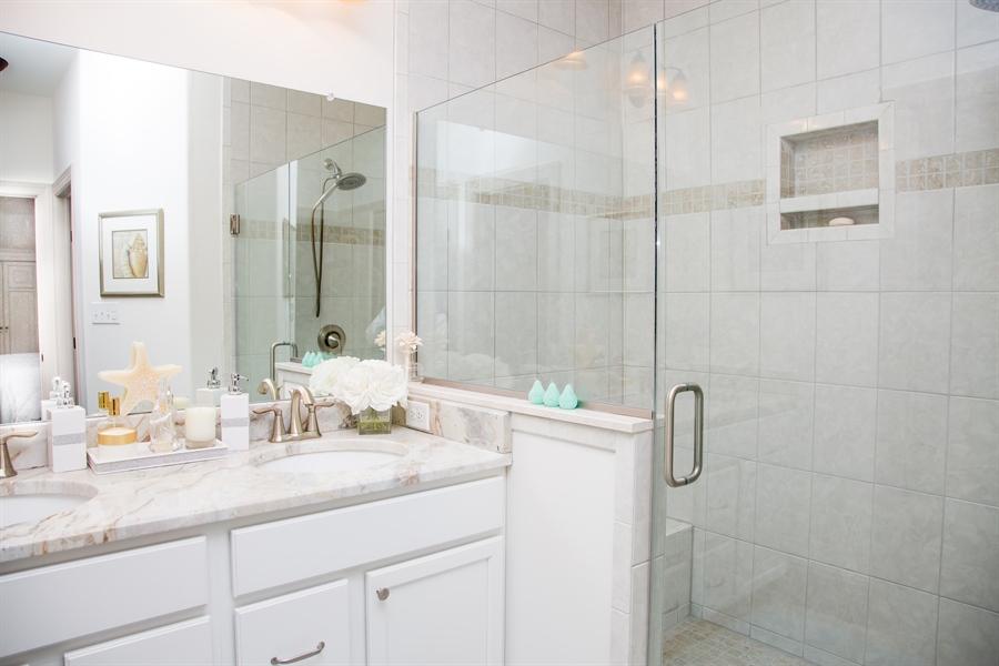 Real Estate Photography - 74 Centerville Rd, Wilmington, DE, 19808 - Master bath features large shower