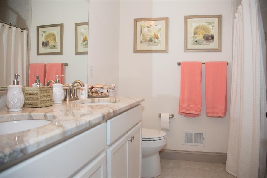 Real Estate Photography - 74 Centerville Rd, Wilmington, DE, 19808 - 2nd fl. full bath, double bowl vanity