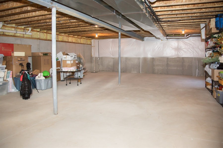 Real Estate Photography - 74 Centerville Rd, Wilmington, DE, 19808 - Basement, ready for finishing, or just storage