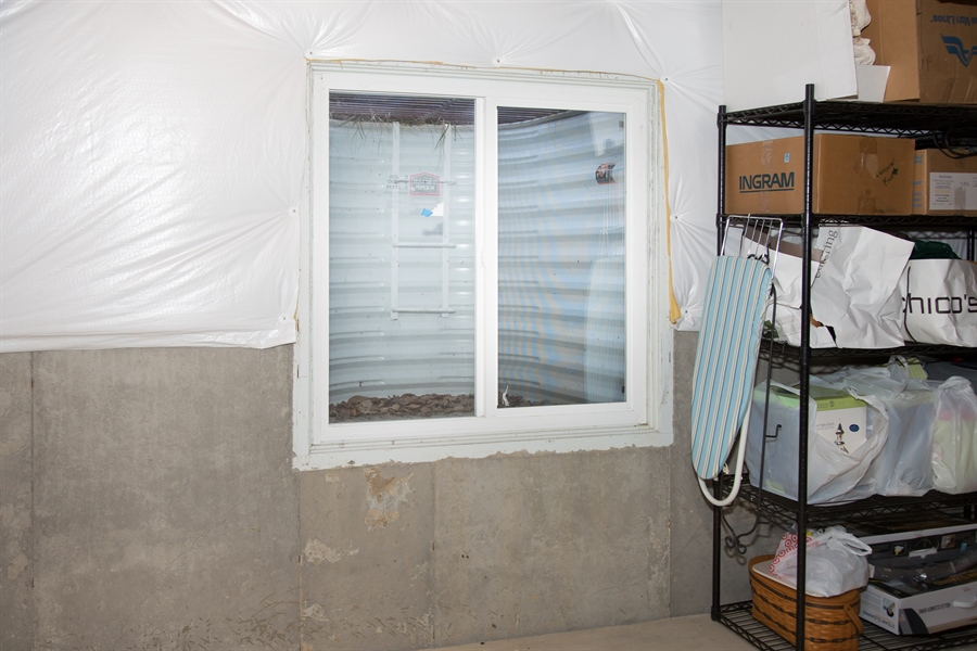 Real Estate Photography - 74 Centerville Rd, Wilmington, DE, 19808 - Base.(cont.) with egress window