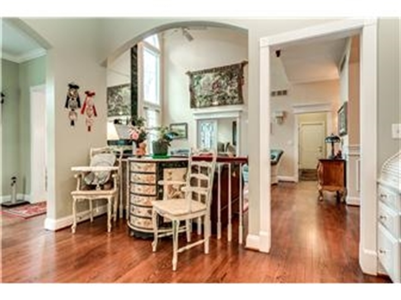 Real Estate Photography - 3495 Montchanin Rd, Greenville, DE, 19807 - Kitchen opens to Family Room