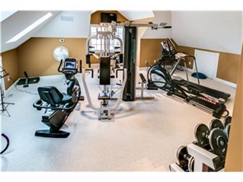 Real Estate Photography - 3495 Montchanin Rd, Greenville, DE, 19807 - 2nd Floor Exercise Room with Reinforced Floor