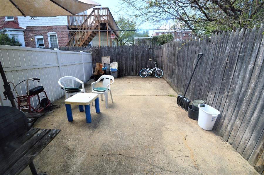 Real Estate Photography - 421 S Broom St, Wilmington, DE, 19805 - Back yard