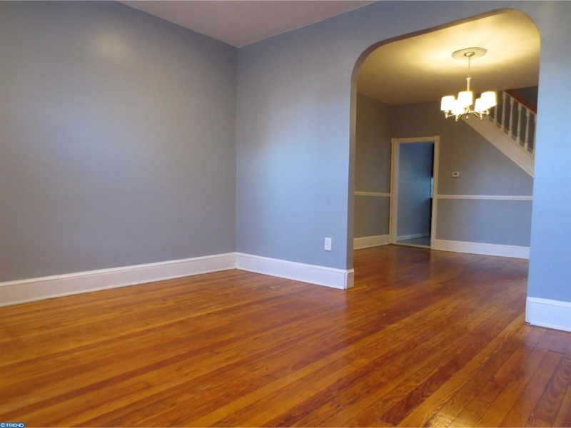 Real Estate Photography - 421 S Broom St, Wilmington, DE, 19805 - Living Rm of a neighbor home recently sold