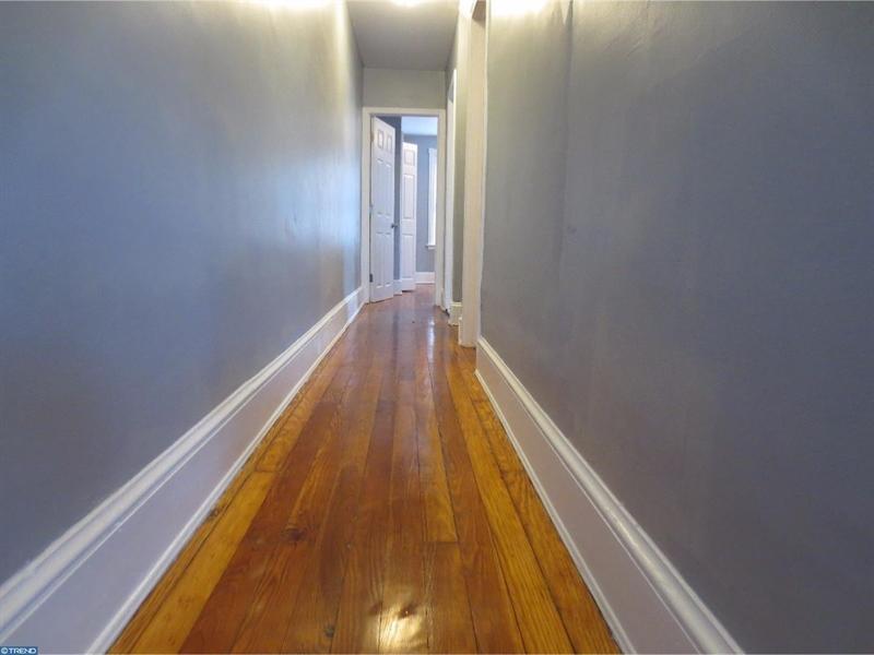 Real Estate Photography - 421 S Broom St, Wilmington, DE, 19805 - 2nd Floor Hall of neighbor home recently sold