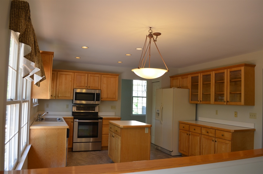 Real Estate Photography - 511 Summerbreeze Dr, Newark, DE, 19702 - Kitchen from Family Room