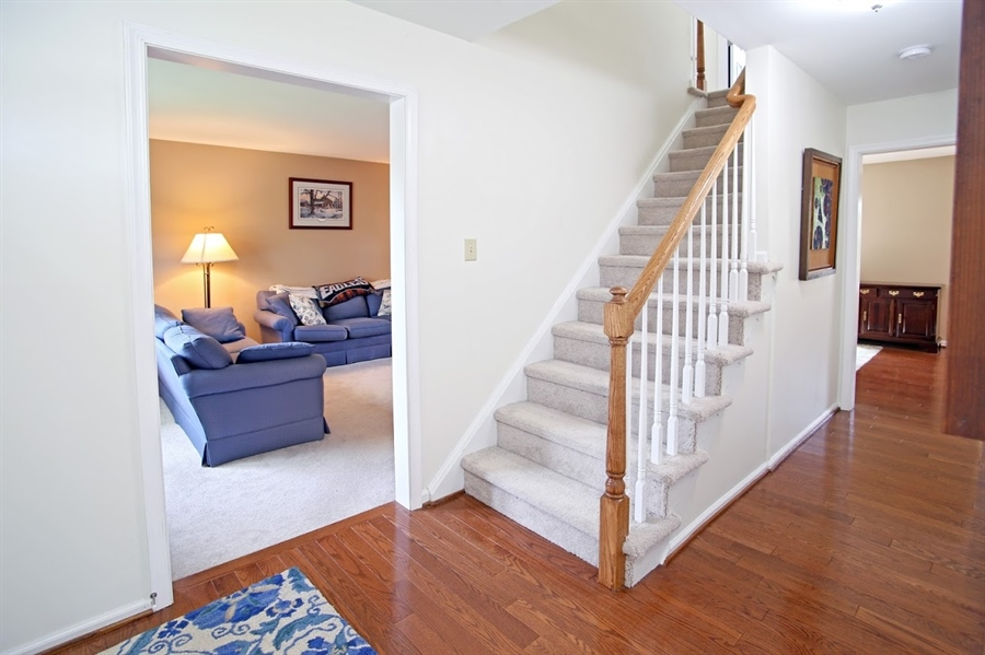 Real Estate Photography - 2226 Saint Francis St, Wilmington, DE, 19808 - Stairway