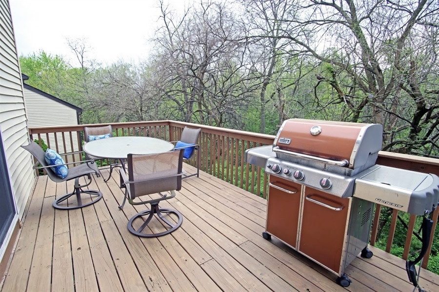 Real Estate Photography - 2226 Saint Francis St, Wilmington, DE, 19808 - Another view of deck
