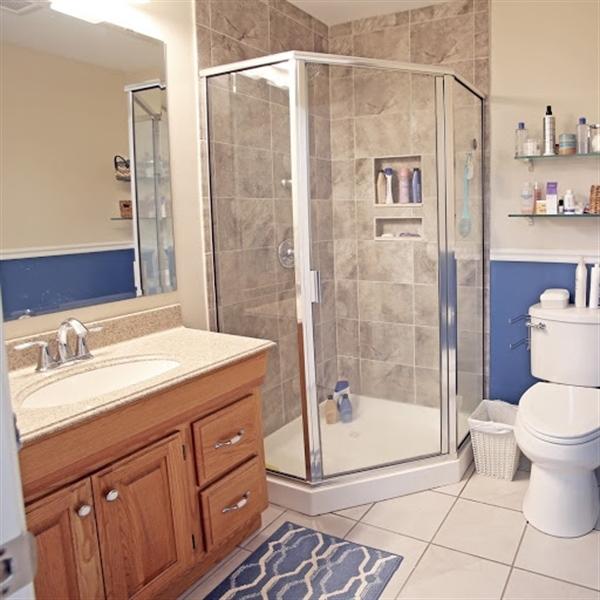 Real Estate Photography - 2226 Saint Francis St, Wilmington, DE, 19808 - Master Bath