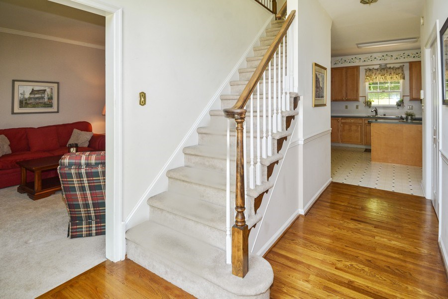 Real Estate Photography - 508 Thorndale Dr, Hockessin, DE, 19707 - Staircase