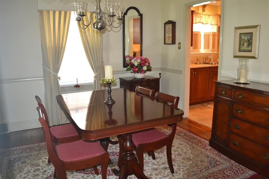 Real Estate Photography - 308 Tindall Rd, Wilmington, DE, 19805 - Lovely Dining Room