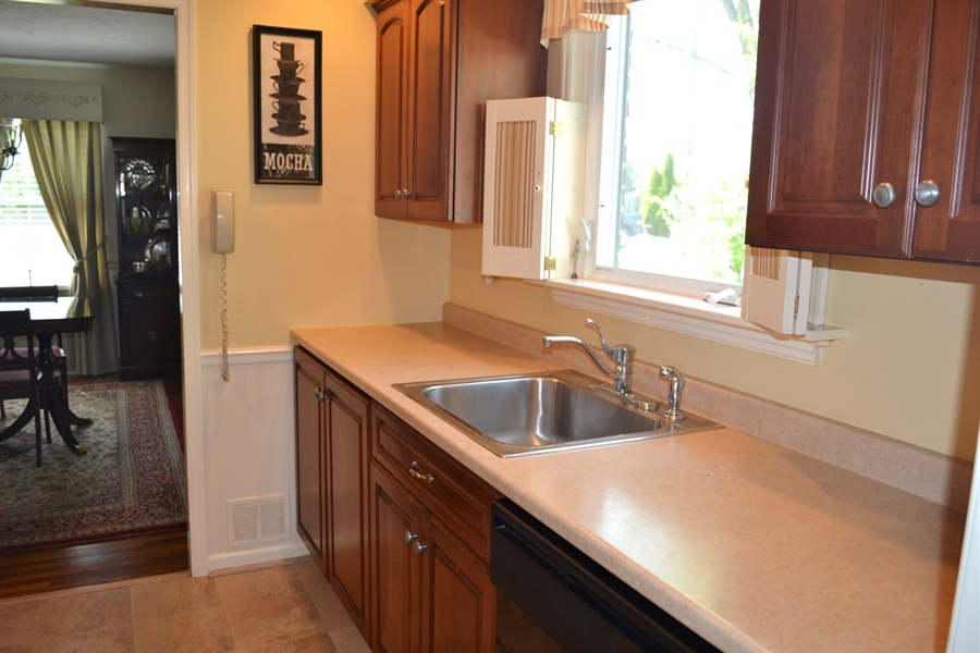 Real Estate Photography - 308 Tindall Rd, Wilmington, DE, 19805 - Large Kitchen Sink