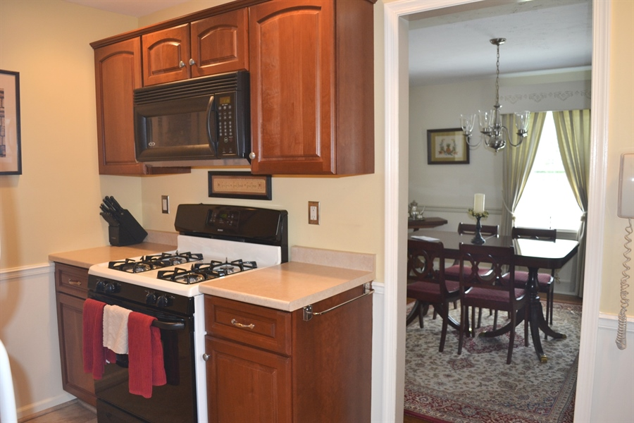 Real Estate Photography - 308 Tindall Rd, Wilmington, DE, 19805 - Beautiful Kitchen Cabinets
