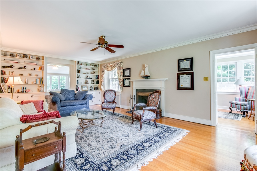 Real Estate Photography - 615 Old Wilmington Rd, Hockessin, DE, 19707 - Living Room
