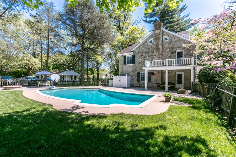 Real Estate Photography - 615 Old Wilmington Rd, Hockessin, DE, 19707 - In ground Pool