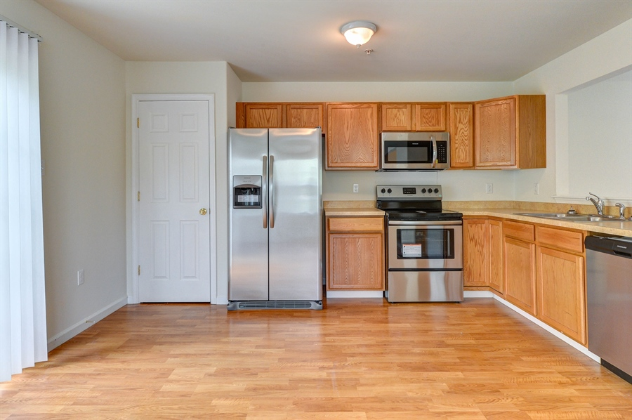 Real Estate Photography - 101 Ben Blvd, Elkton, DE, 21921 - Pantry, NEW stainless refrigerator with icemaker