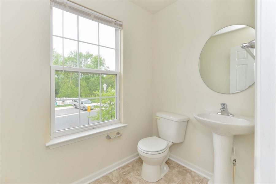 Real Estate Photography - 101 Ben Blvd, Elkton, DE, 21921 - Powder Room just off Great Room on main level