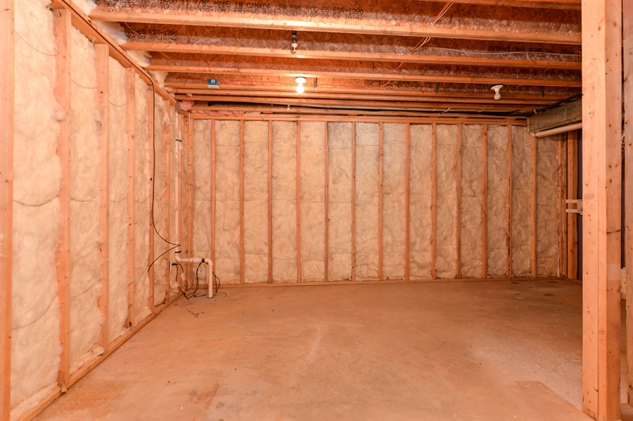 Real Estate Photography - 101 Ben Blvd, Elkton, DE, 21921 - 18 x 14 unfinished storage area w/laundry hookups
