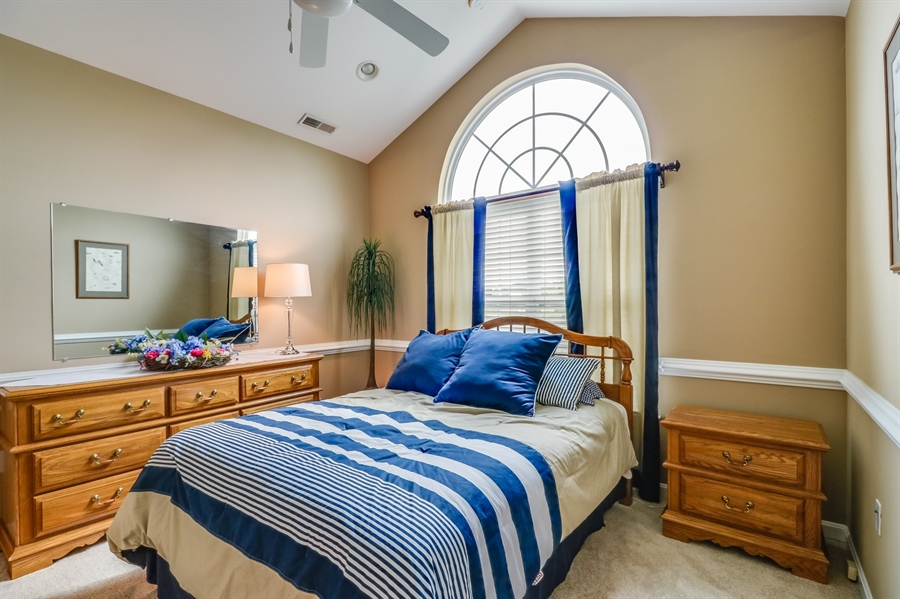 Real Estate Photography - 13 Beacon Cir, Millsboro, DE, 19966 - 2nd Bedroom w/cathedral ceiling