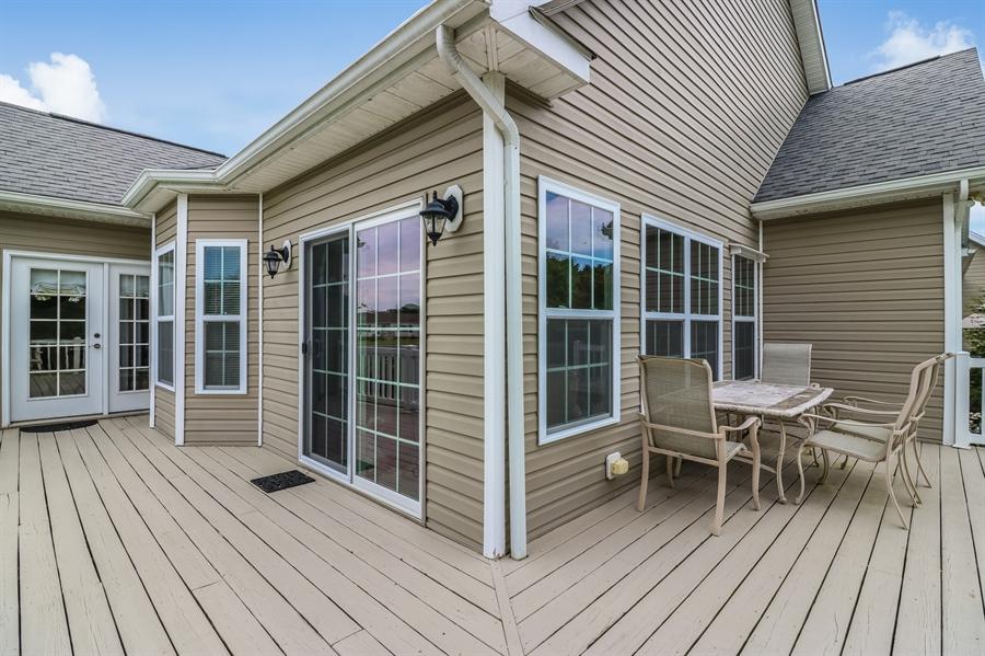Real Estate Photography - 13 Beacon Cir, Millsboro, DE, 19966 - Large deck
