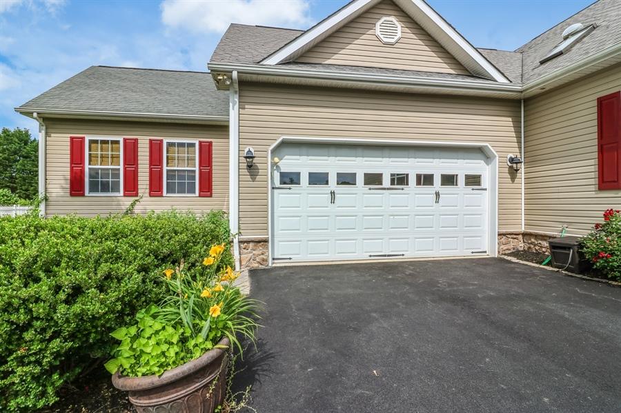 Real Estate Photography - 13 Beacon Cir, Millsboro, DE, 19966 - 2-Car garage & work shop addition with attic