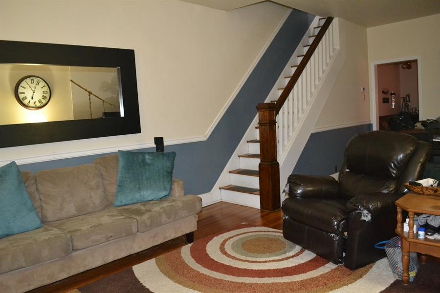 Real Estate Photography - 520 N Lincoln St, Wilmington, DE, 19805 - Living Room w/ Hardwood Floor