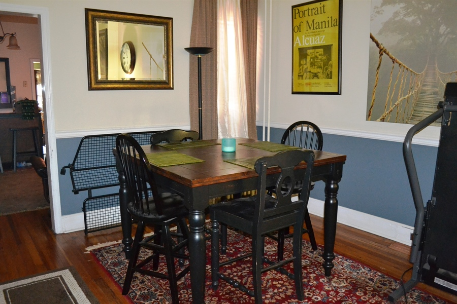 Real Estate Photography - 520 N Lincoln St, Wilmington, DE, 19805 - Dining Area