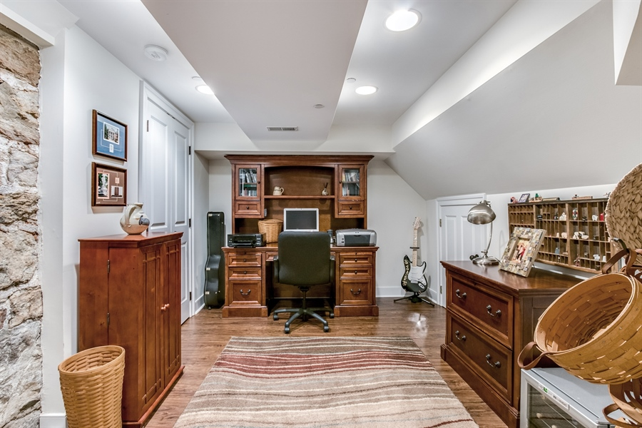 Real Estate Photography - 210 Phillips Mill Ln, Newark, DE, 19711 - Lower Level Study/Office