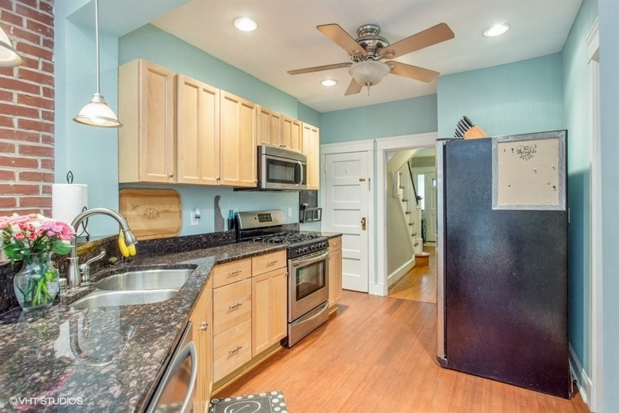 Real Estate Photography - 807 W 22nd St, Wilmington, DE, 19802 - Updated kitchen