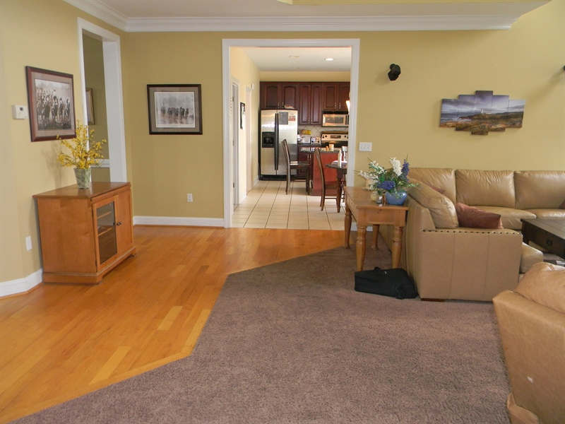 Real Estate Photography - 85 Rolling Green Ln, Elkton, MD, 21921 - Great Room to Kitchen