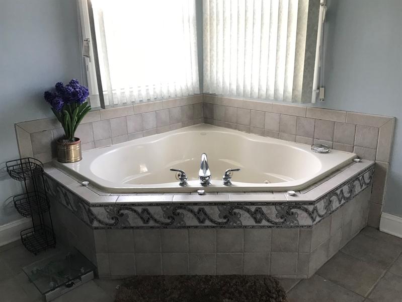 Real Estate Photography - 85 Rolling Green Ln, Elkton, MD, 21921 - Master Bath w/ Whirlpool Tub & Shower