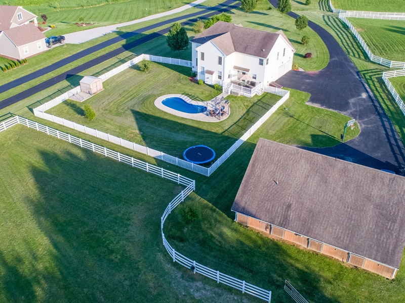 Real Estate Photography - 85 Rolling Green Ln, Elkton, MD, 21921 - Pool, 2+4 Car Garage, Guest Suite, Stalls, Paddock