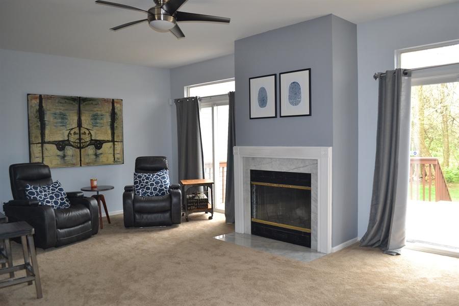 Real Estate Photography - 136 Shinn Cir, Wilmington, DE, 19808 - Living Room Full of Light