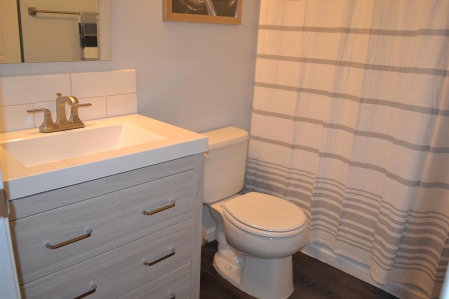 Real Estate Photography - 136 Shinn Cir, Wilmington, DE, 19808 - Updated Hall Bath