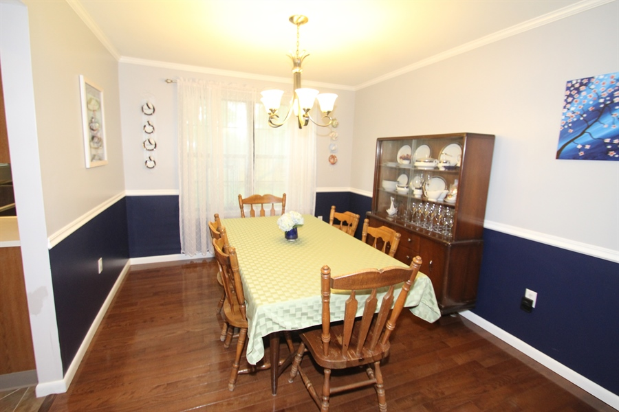 Real Estate Photography - 314 Greybull Dr, Bear, DE, 19701 - Dining Room