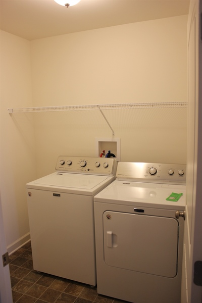 Real Estate Photography - 22 Evesboro Dr, Milford, DE, 19963 - Laundry area