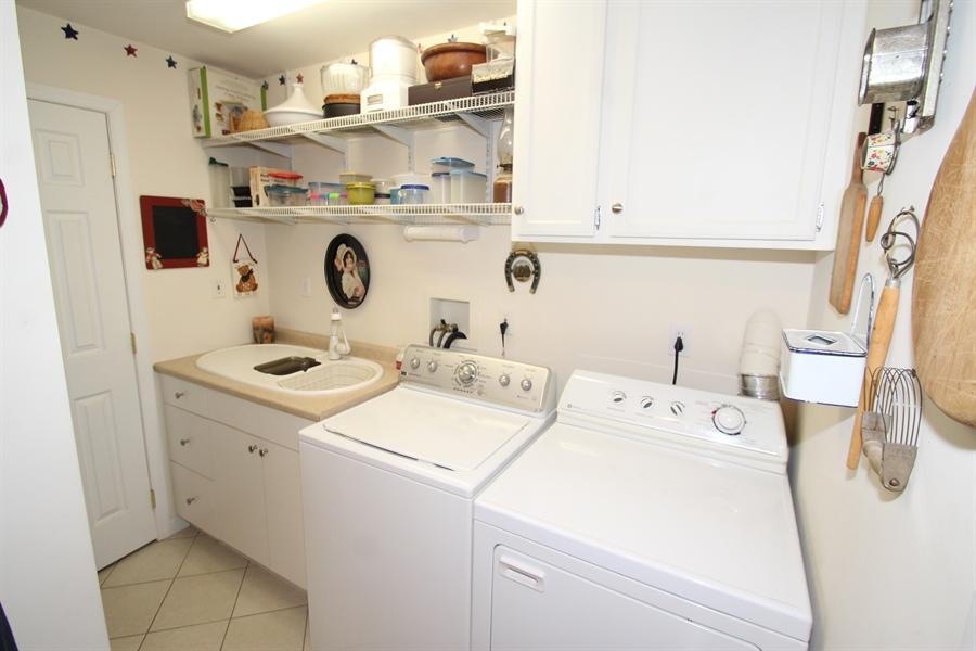 Real Estate Photography - 103 Mendell Pl, New Castle, DE, 19720 - Laundry Room