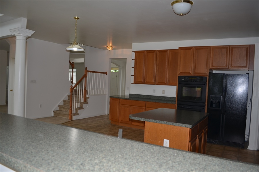 Real Estate Photography - 15 Bay Blvd, Newark, DE, 19702 - Large Eat-in Kitchen Open into Family Room