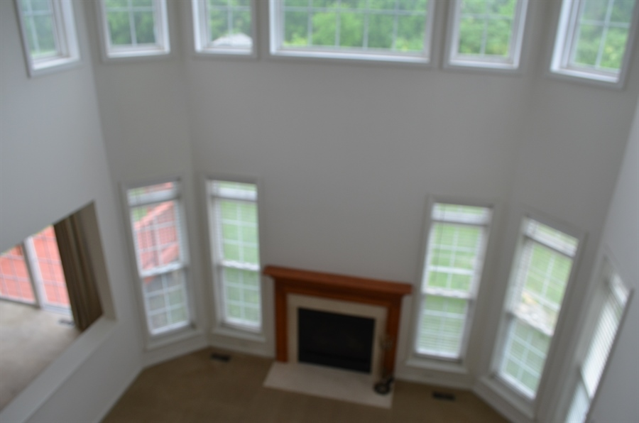 Real Estate Photography - 15 Bay Blvd, Newark, DE, 19702 - View of Family Room from Balcony Area