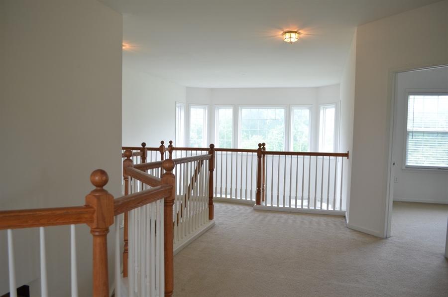 Real Estate Photography - 15 Bay Blvd, Newark, DE, 19702 - Open Hallway overlooking 1st floor w 25' ceilings
