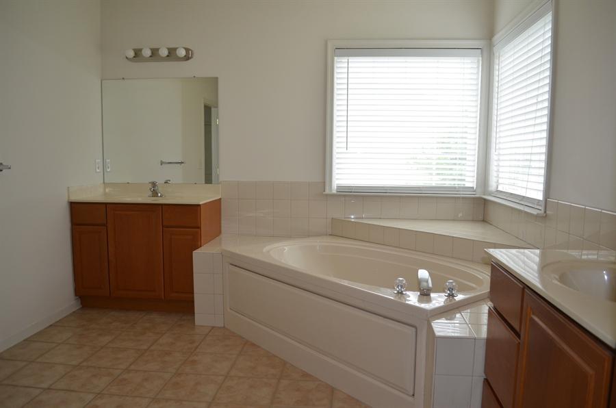 Real Estate Photography - 15 Bay Blvd, Newark, DE, 19702 - Dual Sinks in the huge Master Bathroom