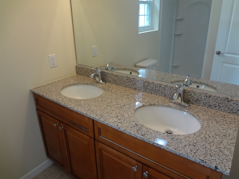 Real Estate Photography - 9 N Main Street, Magnolia, DE, 19962 - Double sink in master bathroom