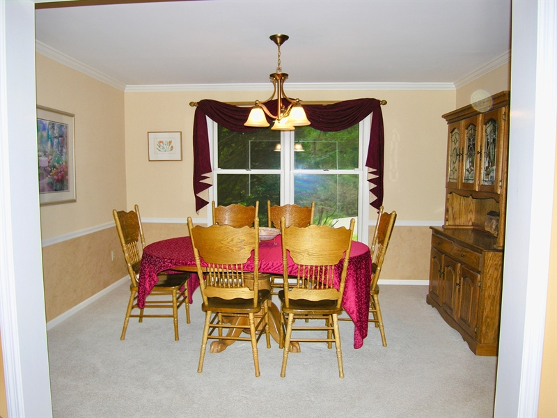 Real Estate Photography - 135 Belmont Dr, Wilmington, DE, 19808 - Dining Room