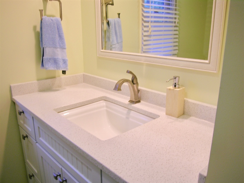 Real Estate Photography - 135 Belmont Dr, Wilmington, DE, 19808 - Updated Master Bath