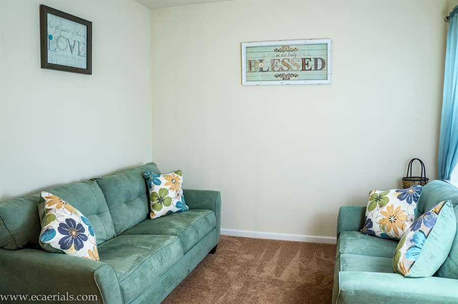 Real Estate Photography - 160 Shannon Blvd, Middletown, DE, 19709 - Formal Living Room