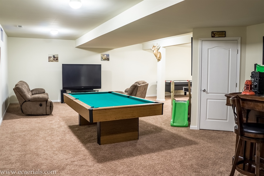 Real Estate Photography - 160 Shannon Blvd, Middletown, DE, 19709 - Game Room